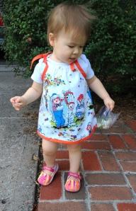 Creative Counselor: Raggedy Ann baby dress