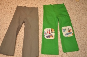Creative Counselor: How to line kids pants
