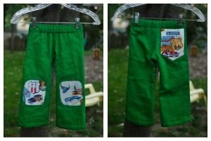Creative Counselor: How to line basic kids pants