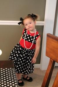 Creative Counselor: Minnie dress