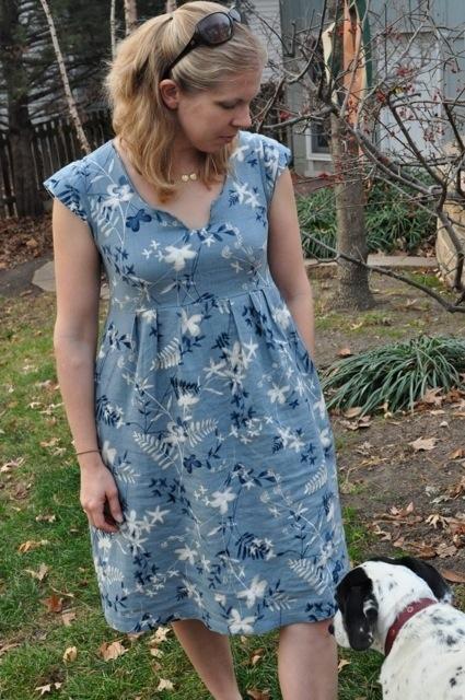 Creative Counselor: First Washi Dress