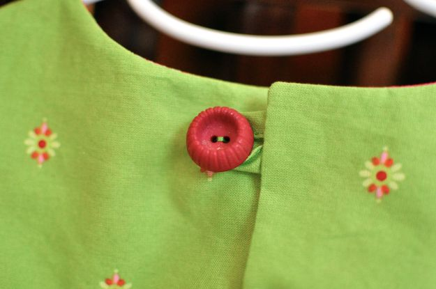 Creative Counselor: Roller Skate Dress detail