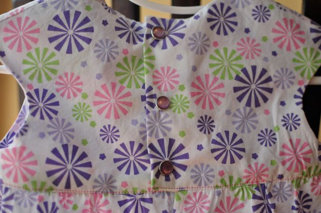 Creative Counselor: Bubble Dress placket