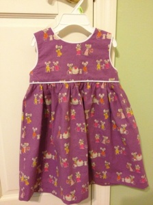 Creative Counselor: Purple Mouse Geranium Dress