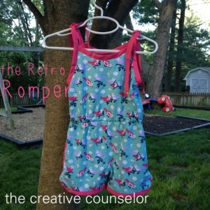 Creative Counselor: Summer Vibe Collection Retro Romper