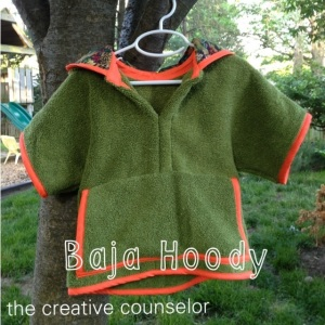 Creative Counselor: Summer Vibe collection Baja Hoody