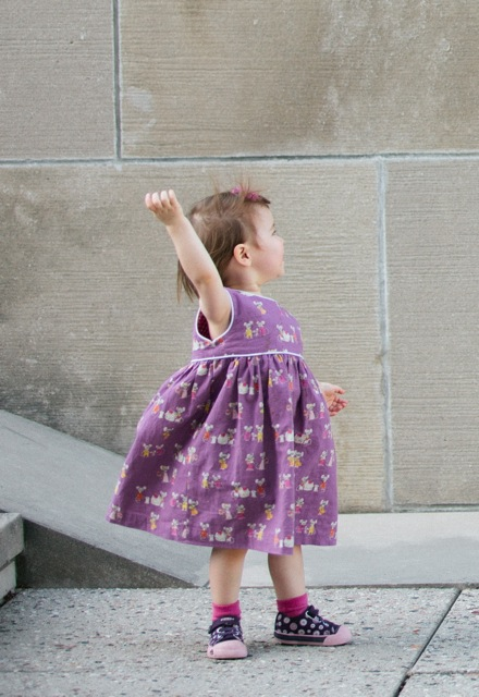 Creative Counselor: Geranium Dress
