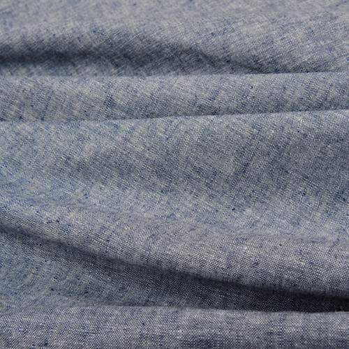 Yarn-dyed Essex Linen in denim