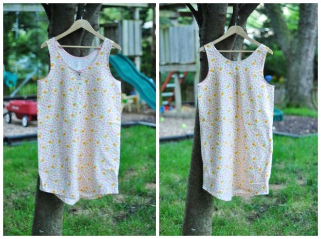 Creative Counselor: Linen Eucalypt Dress