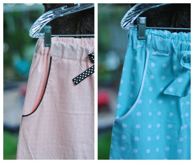Creative Counselor: Tofino pants details