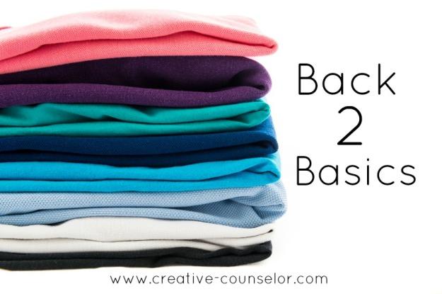 Sewing wardrobe basics at the Creative Counselor