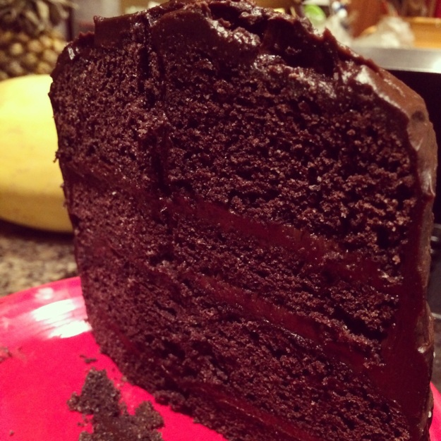 Creative Counselor: Paleo chocolate birthday cake