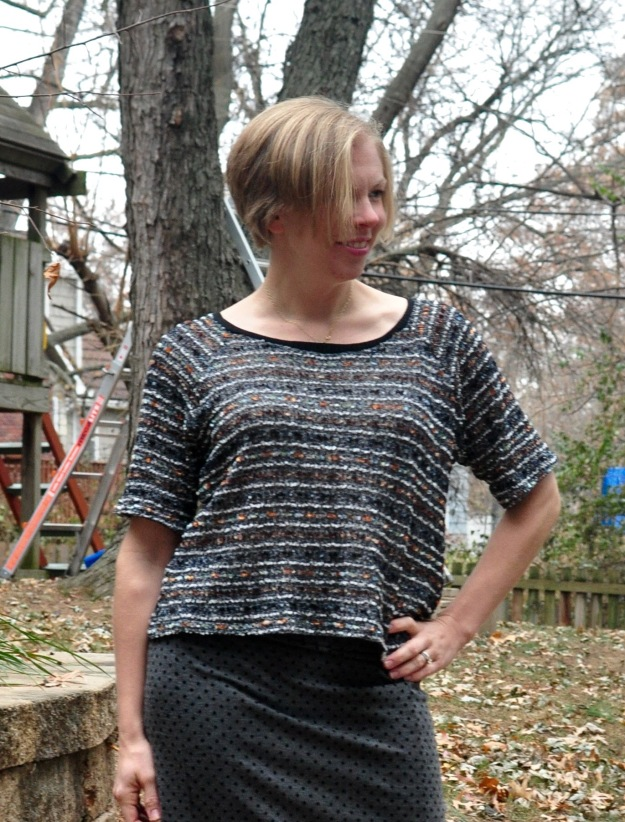 Linden Sweater from Grainline studios sewn by Katie @ www.creative-counselor.com