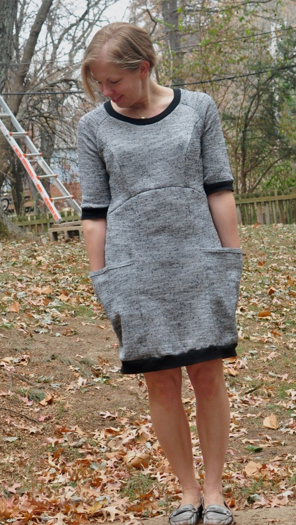 Victory Patterns Lola dress sewn by Katie @ www.creative-counselor.com