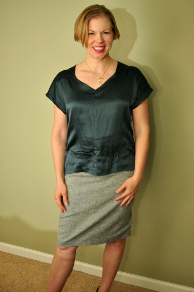 True Bias Sutton Blouse sewn by Katie @ www.creative-counselor.com
