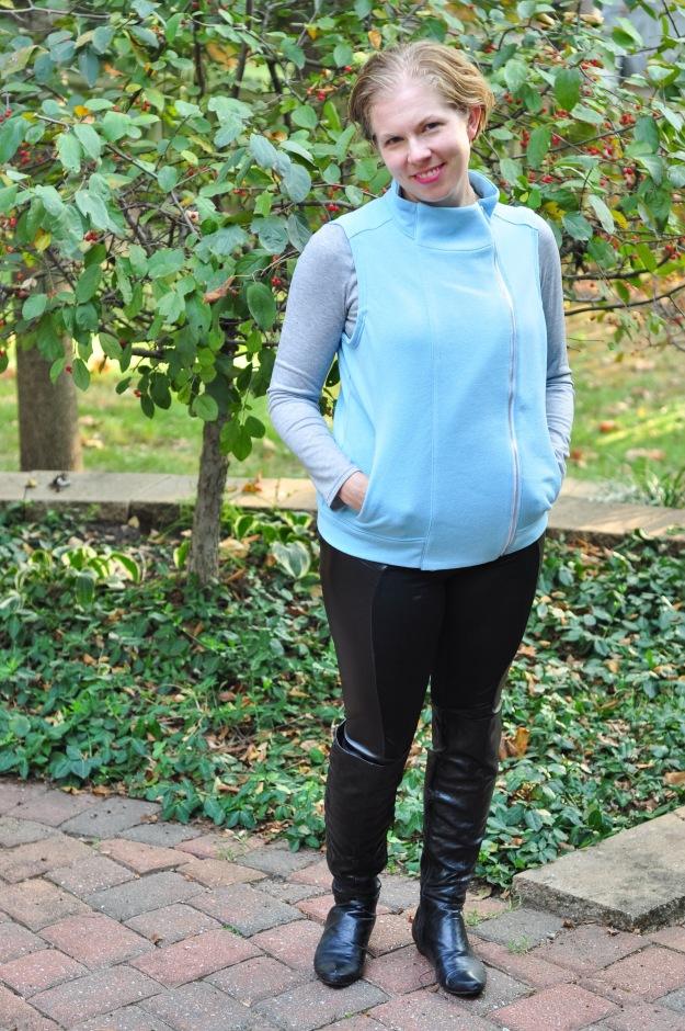 Creative Counselor: Jacqueline Hoodie Vest