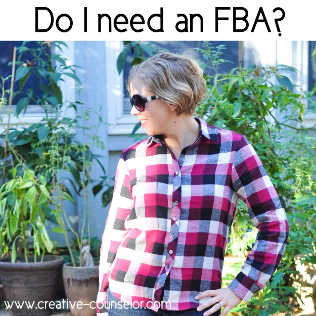 Creative Counselor: How to know if you need an FBA from pattern measurements