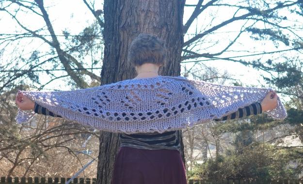 Creative Counselor: Show off shawl