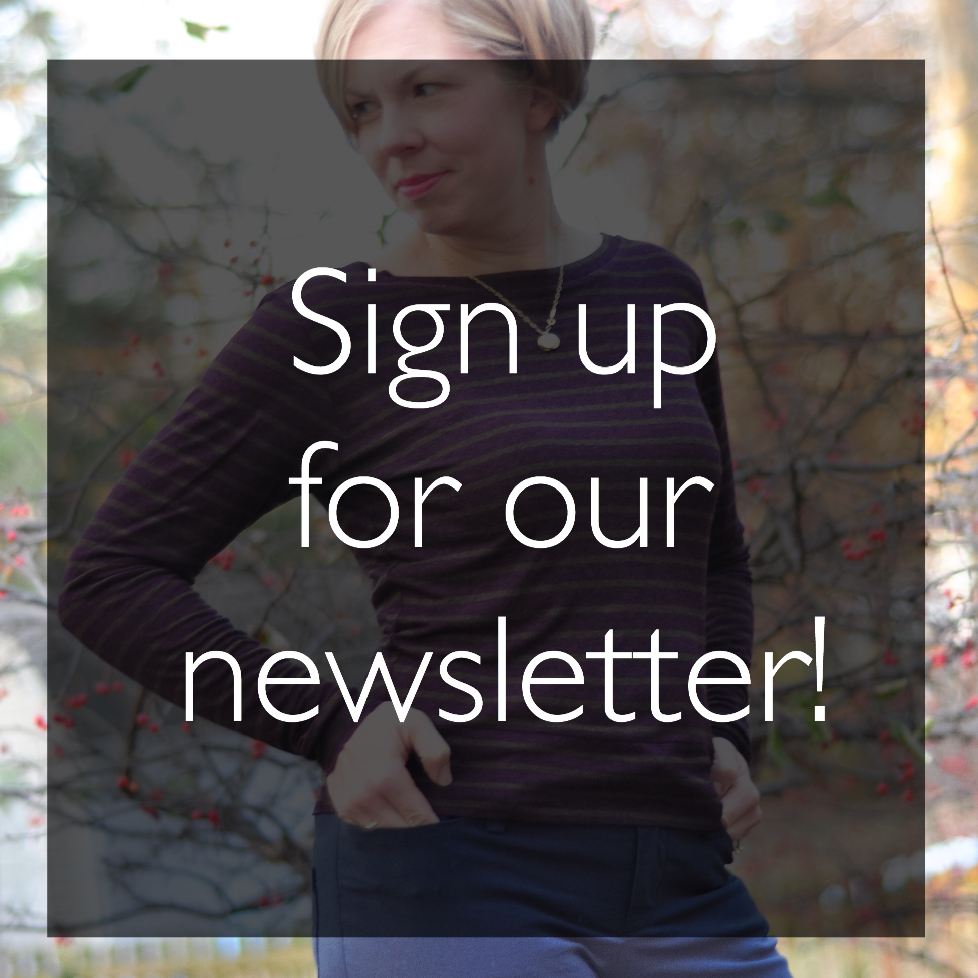 Creative Counselor: Newsletter signup