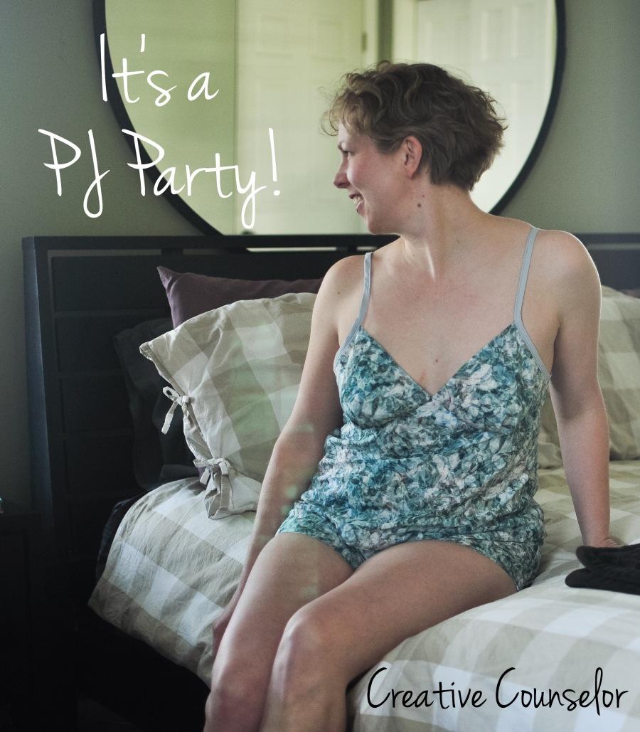 Creative Counselor: Spring Break PJ Party