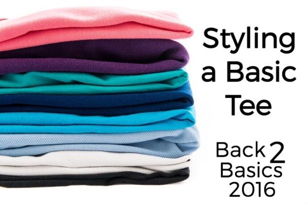 Back to Basics: Styling a basic tee