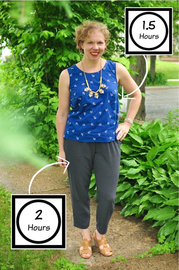 Creative Counselor: Pattern Emporium Harem Pants