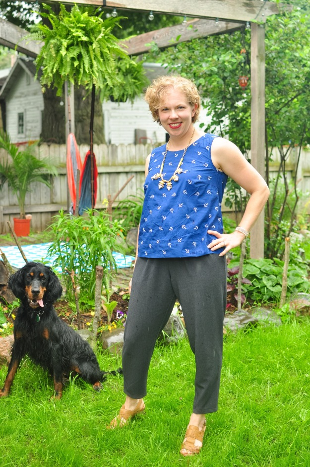 Creative Counselor: Pattern Emporium Harem Pants