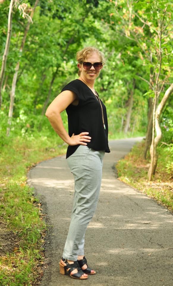 Creative Counselor: WBM slim fit pants