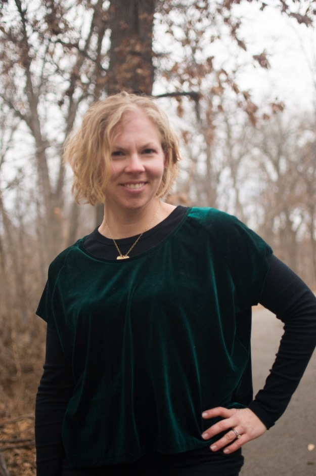 Creative Counselor: Velvet Penny Raglan